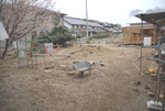 園庭(北東側から)